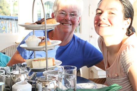 High Tea at crieff hydro